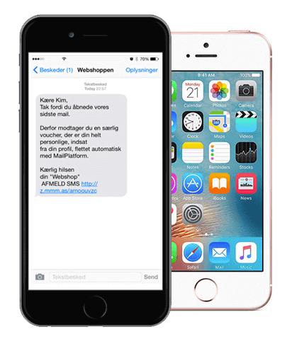 SMS markedsføring