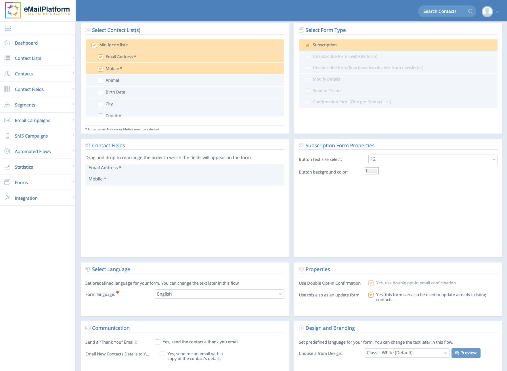 tilmeldingsformular_selectilist