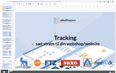 Webinar: Brug Tracking til målrettet kommunikation