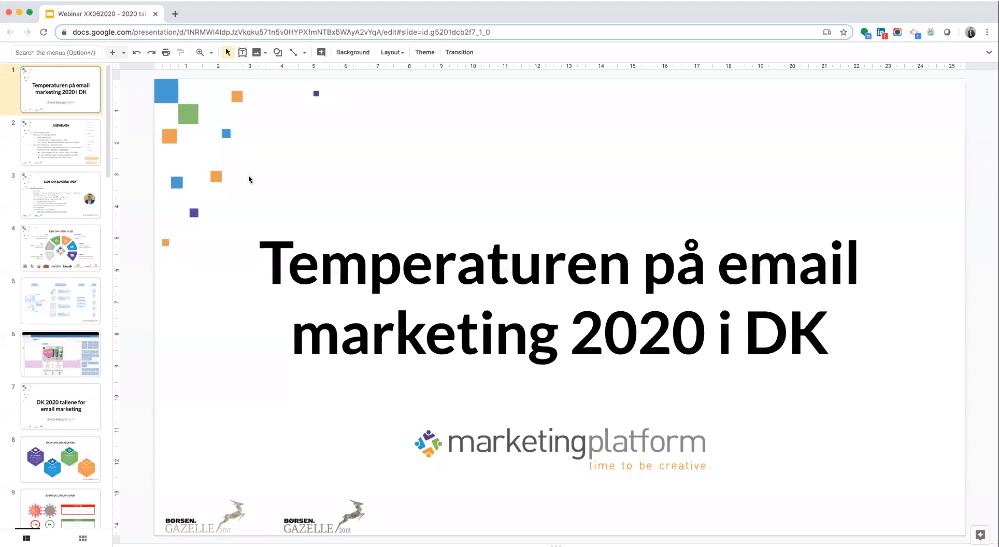 Webinar: Temperaturen på Email Marketing 2020 i Danmark