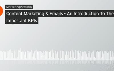 Content Marketing og emails – Find de rette KPI'er