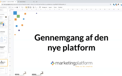 Webinar: MarketingPlatform version 3.0